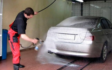 Автомойка с налаженным потоком клиентов