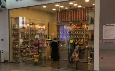 Магазин чая и кофе в крупном ТЦ