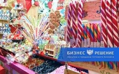 Магазин сладостей рядом со станцией метро Арбатская.