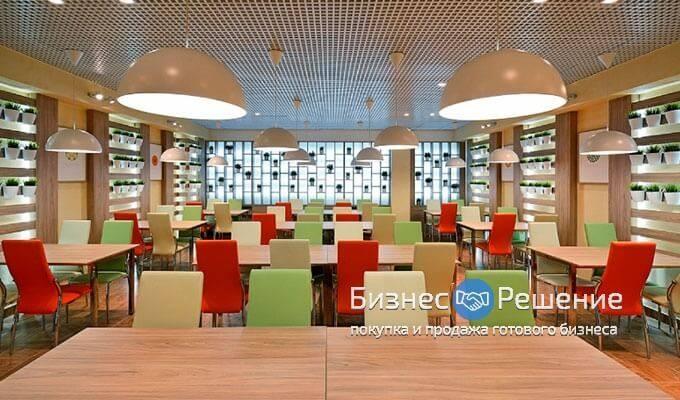 Сеть столовых в центре Москвы