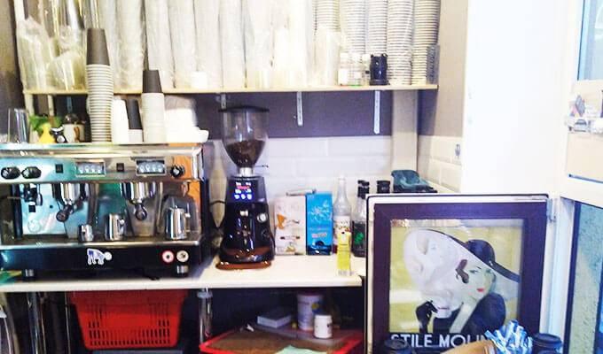 «Кофе с собой» в торгово-развлекательном центре