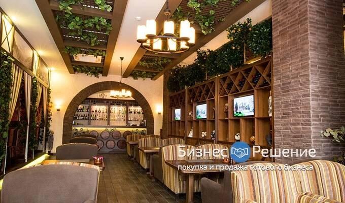 Стильный ресторан кавказской кухни