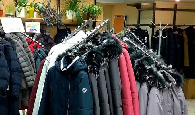 Прибыльный магазин розничной торговли одеждой