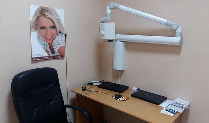 Стоматологическая клиника с 3 кабинетами и рентгеном