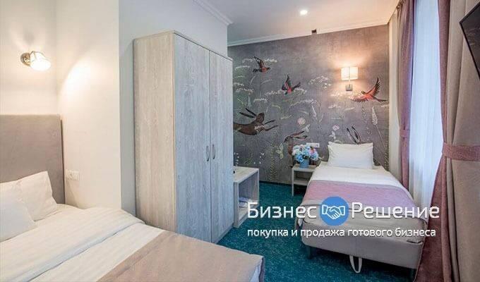 Прибыльный отель в самом центре Москвы