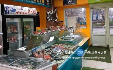 Продовольственный отдел рыбы и морепродуктов