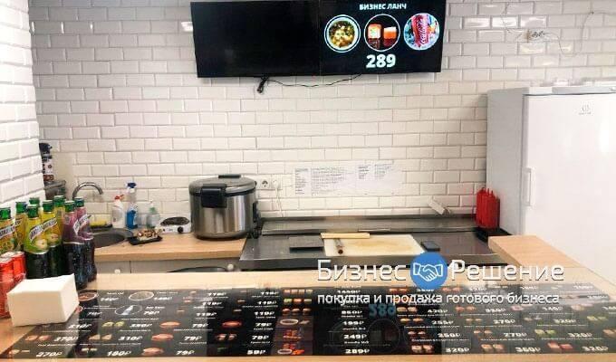 Суши-бар в крупном бизнес-центре
