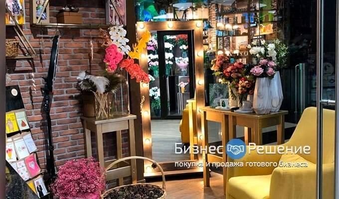 Готовый цветочный бутик в Москва Сити