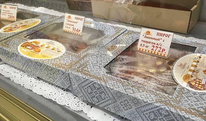 Известная сеть хлебобулочных изделий
