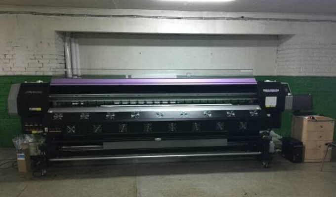 Бизнес по интерьерной широкоформатной печати