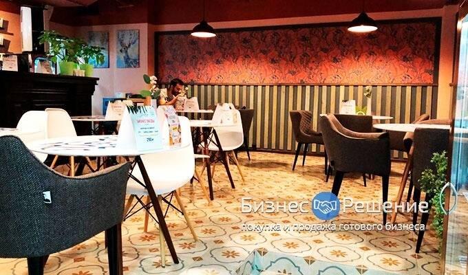 Кафе в крупном бизнес-центре на Юго-Западе Москвы