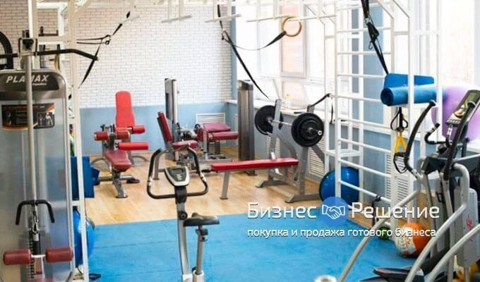 Фитнес-клуб в большом жилом массиве ЗАО