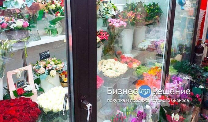 Цветочный магазин у метро Павелецкая
