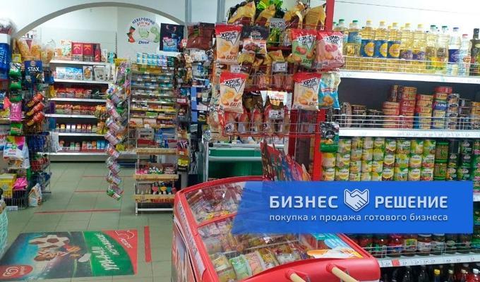 Продуктовый магазин рядом с метро Кузьминки