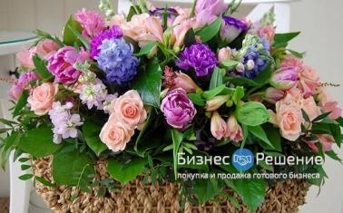 Магазин цветов на Павелецкой с активными онлайн-продажами