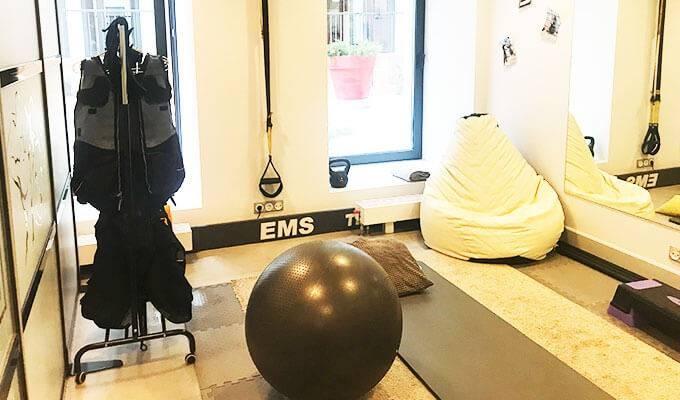 EMS-студия в центре Москвы