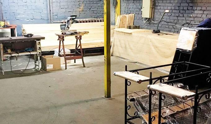 Компания по продаже мангалов собственного производства