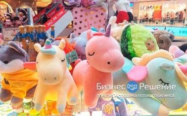 Точка продаж сладостей из Европы и мягких игрушек
