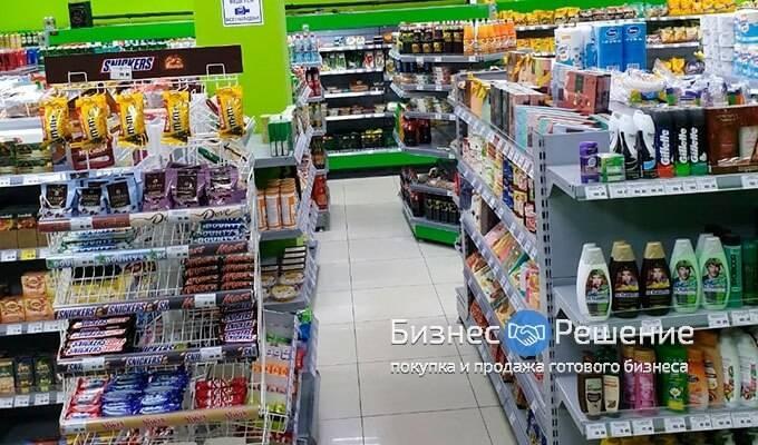 Раскрученный магазин продуктов в г. Реутов