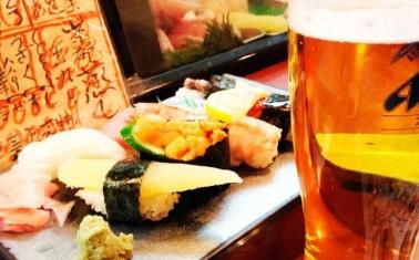 Магазин разливного пива с суши-баром