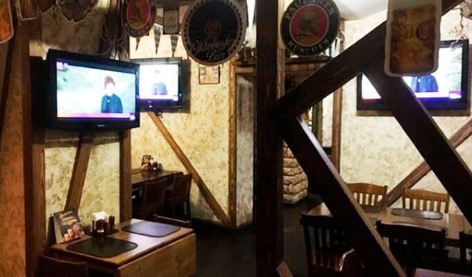 Пивной ресторан на 80 посадочных мест