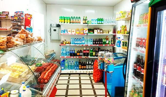 Продуктовый магазин в Строгино