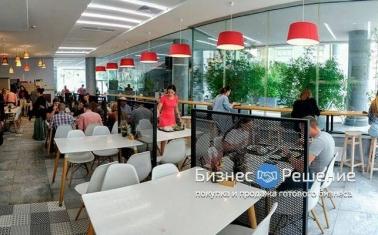 Кафе столовая в крупном БЦ