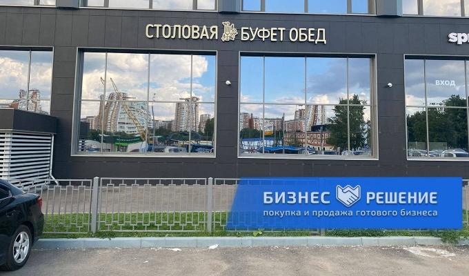 Столовая с дизайнерским ремонтом у м. Селигерская
