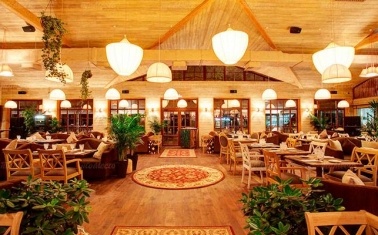 Ресторан в одном из крупнейших ТРЦ Москвы