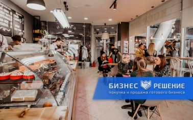 Полностью оборудованная кофейня в центре Москвы