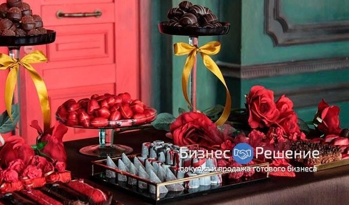 Бутик фирменных сладостей – единственная франшиза в Москве