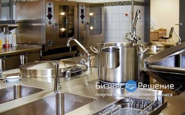 Фабрика-кухня с налаженным производством и доставкой