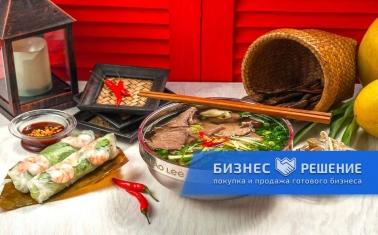 Кафе вьетнамской кухни на фудкорте ТРЦ