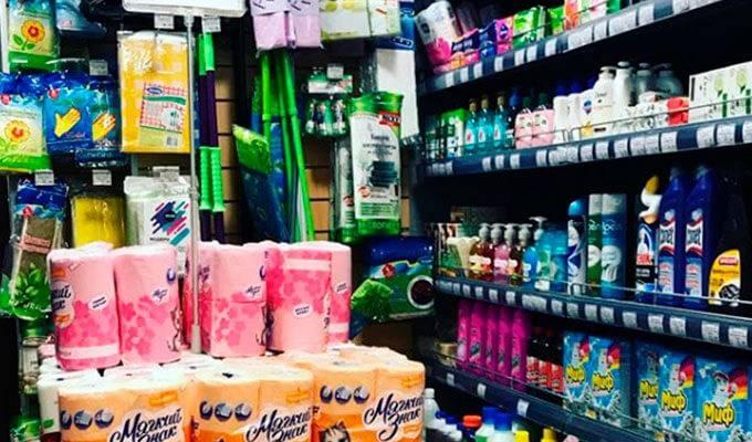 Продуктовый магазин в Красногорске