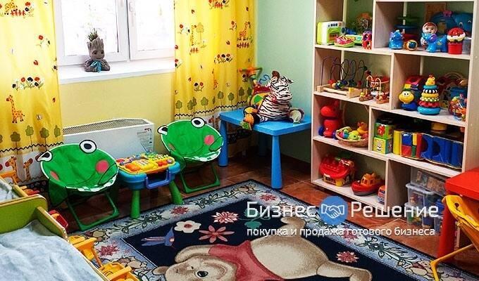 Частный детский сад в Западном АО с высокой прибылью