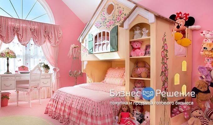 Шоу-рум детской мебели с быстрой окупаемостью