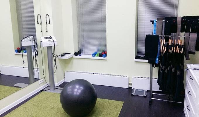 Студия EMS-тренировок, массажный кабинет, кабинет маникюра/педикюра
