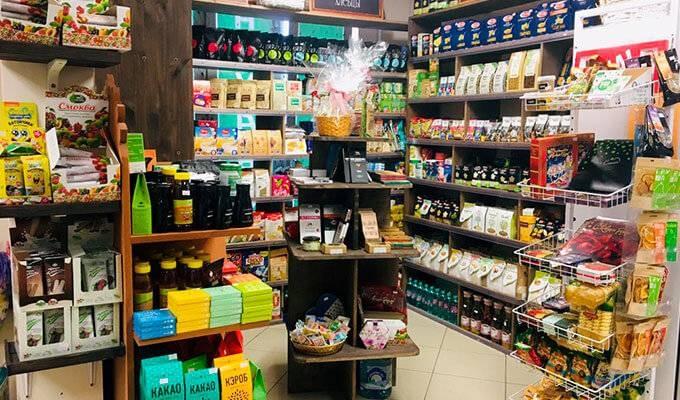 Магазин натуральных продуктов в ЮЗАО