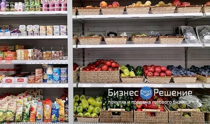 Продуктовый магазин на территории крупного ЖК