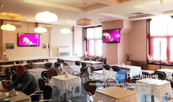 Кафе-столовая в бизнес-центре