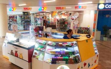 Торговые островки и интернет-магазин сладостей