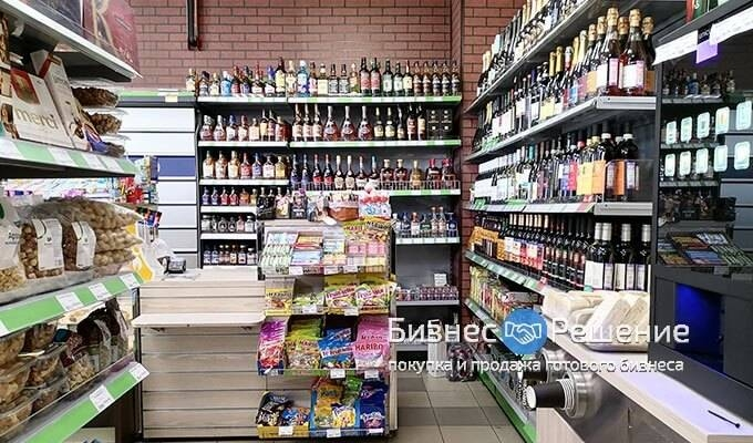 Продуктовый магазин с лицензией и долгосрочной арендой
