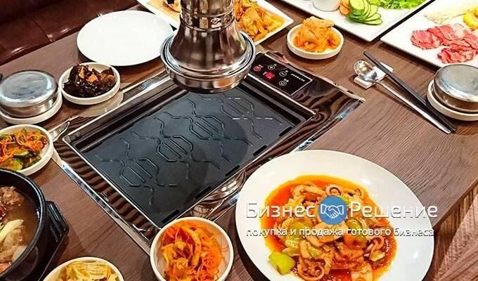 Корейский ресторан в центре Москвы