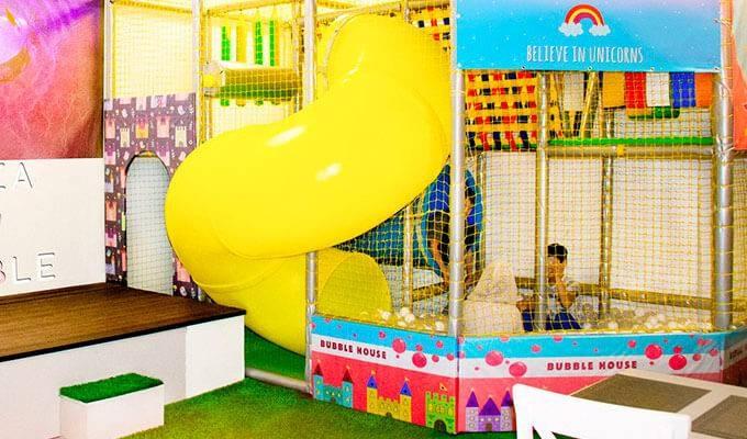 Уникальное семейное кафе в детском ТРЦ
