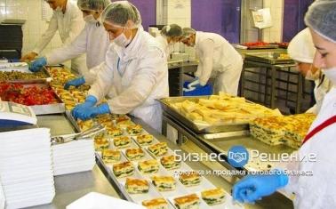 Фабрика-кухня с контрактами в крупные сети