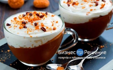 Компактная кофейня с большой проходимостью