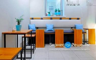 Кофейня с дизайнерским интерьером на 7 посадочных мест
