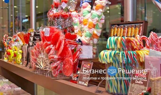 Магазин сладостей в Москва Сити