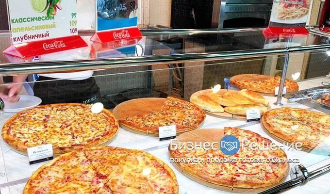Пиццерия с буфетом и салат-баром