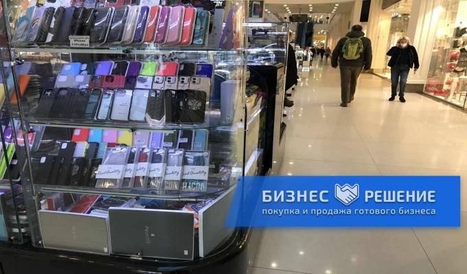 Магазин мобильных аксессуаров в ТРЦ